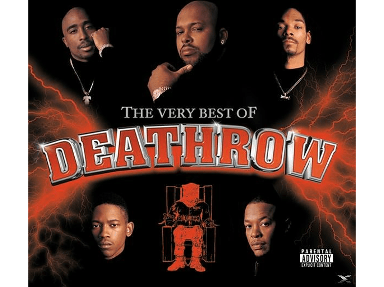 VARIOUS - Very Best Of Death Row (Explicit Version) [CD]
