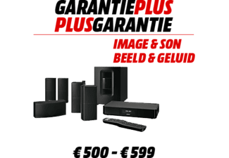 WARRANTY EXTENSION Garantie prolongée 500 - 599 €