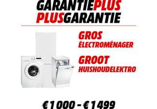 WARRANTY EXTENSION Garantie prolongée 1000 - 1499 €