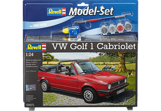 REVELL 67071 VW Golf 1 Cabrio Rot