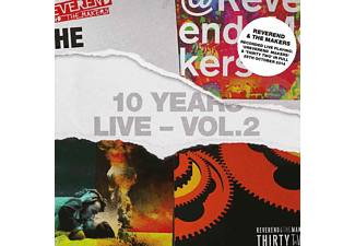 Reverend And The Makers - 10 Years Live-Vol.2 - (CD)