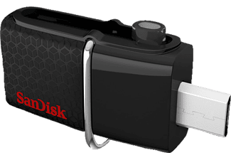 SANDISK Ultra Dual Android, USB-Laufwerk, USB 3.0, 16 GB