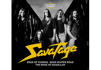 Savatage - Collector's Package-Edge Of Thorns/Magellan/ - (CD)