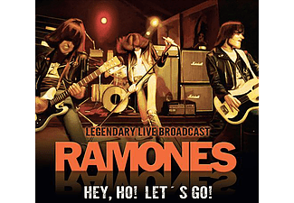 Ramones - Hey, Ho! Let's Go! - Legendary Live Broadcast (CD)