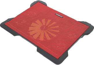 OMEGA Laptop Cooler Pad Cyclone 5 Fans Red - (OMNCP8098R)