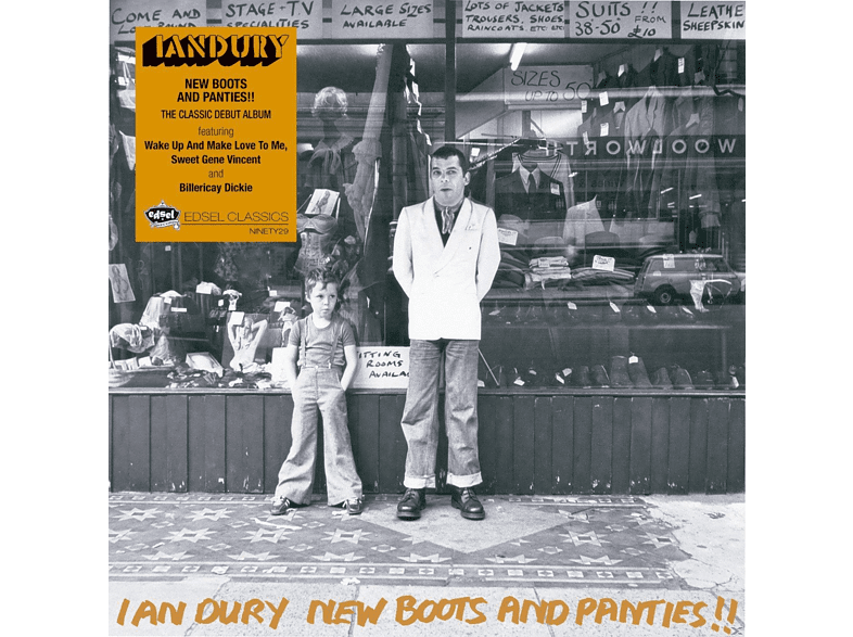 Ian Dury - New Boots And Panties (Mini Replica Sleeve) [CD]