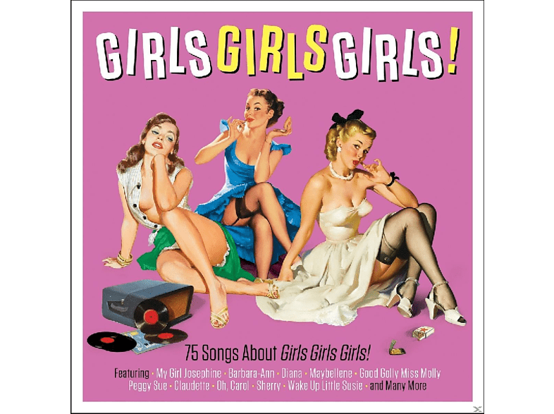 VARIOUS - Girls Girls Girls [CD]