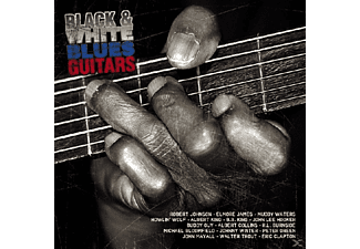 VARIOUS - Black & White Blues Guitars - (CD)