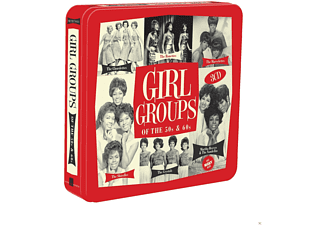 VARIOUS - Girl Groups Of The 50s & 60s [CD]
