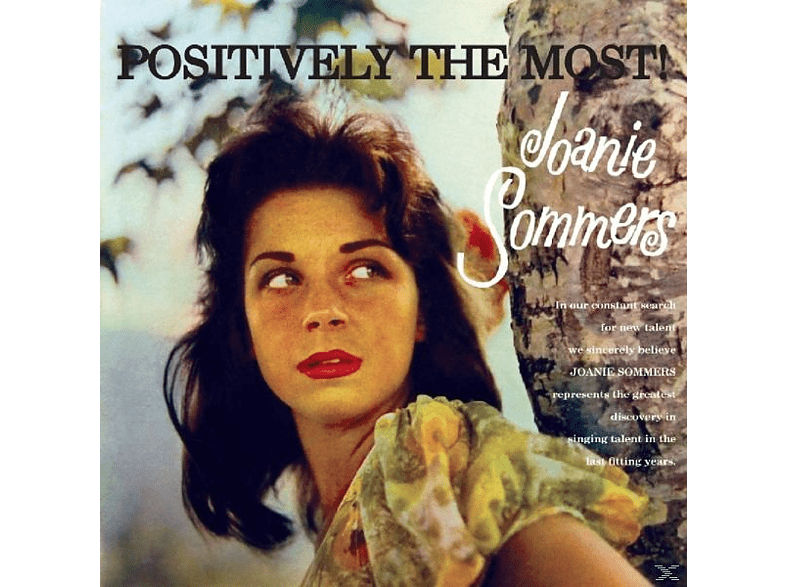 Joanie Sommers - Positively The Most [CD]