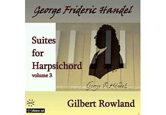Gilbert Rowland - Cembalosuiten Vol.3 - (CD)