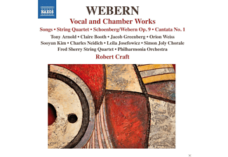 Tony Arnold, Claire Booth, Jacob Greenberg, Leila Josefowicz, Fred Sherry, Rolf Schulte, Tai Murray, David Fulmer, Simon Chorale, The Philharmonia Orchestra, Craft Robert, Orion Weiss - Vokal-Und Kammermusik [CD]