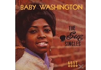 Baby Washington - Sue Singles - (CD)