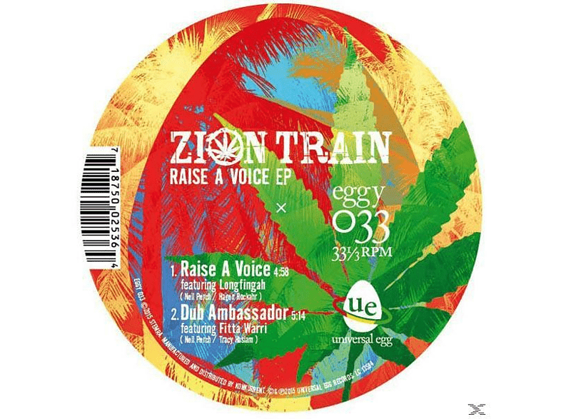 ZION TRAIN FEAT. HORACE ANDY - Just Say Who EP [EP (analog)]