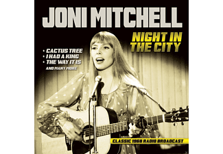 Joni Mitchell - Night In The City / Radio Broadcast 1968 - (CD)