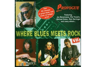 VARIOUS - Where Blues Meets Rock Vol.7 - (CD)