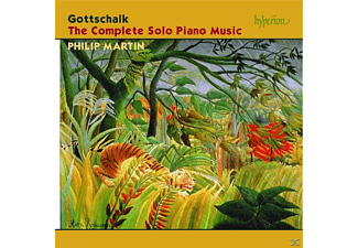 Philip Martin - Gottschalk:The Complete Solo Piano Music - (CD)