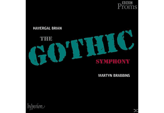 Martyn Brabbins, Bbc National Orchestra Of Wales, Haverg Brian - The Gothic Symphony - (CD)