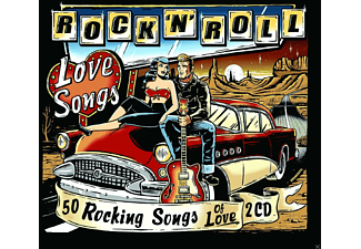 VARIOUS - Rock'n Roll Love Songs [CD]