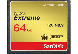 SANDISK 64 GB Extreme CF 120 MB/s
