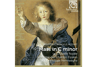 Philippe Herreweghe, La Chapelle Royale, Collegium Vocale - Mass in C Minor - (CD)