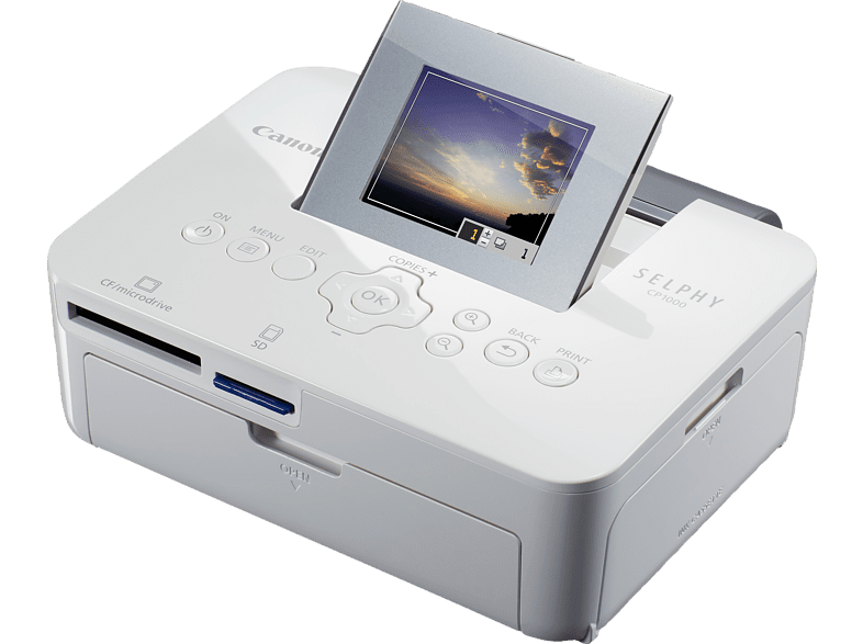 CANON SELPHY CP1000 WH Fotodrucker Thermosublimationsdruck