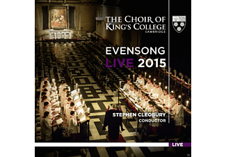 Tom Etheridge, Douglas Tang, Choir Of Kings College Cambridge - Evensong Live 2015 - (CD)