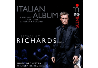 Timothy Richards - Italienisches Album - (CD)