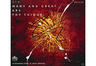 Duo Zia - Many And Great Are Thy Things - (CD)