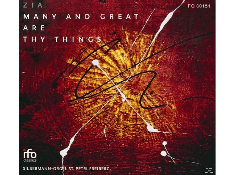 Duo Zia - Many And Great Are Thy Things [CD]