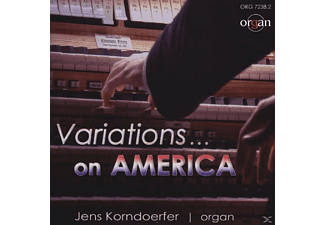 Jens Korndoerfer, VARIOUS - Variations on America - (CD)