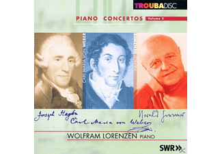 Swr So, Bour, Nowak, Bamberger So, Lorenzen, Symeonides - Klavierkonzerte vol.2 - (CD)