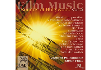 Fraas/Vogtland Philharmonie - Film Music-Sounds of Hollywood Vol.2 - (SACD Hybrid)