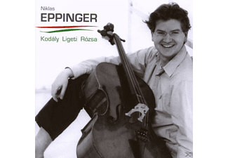 Niklas Eppinger - SONATES: SONATA FOR CELLO SOLO OP8 - (CD)