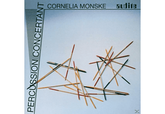 Cornelia Monske - Percussion Concertant - (CD)