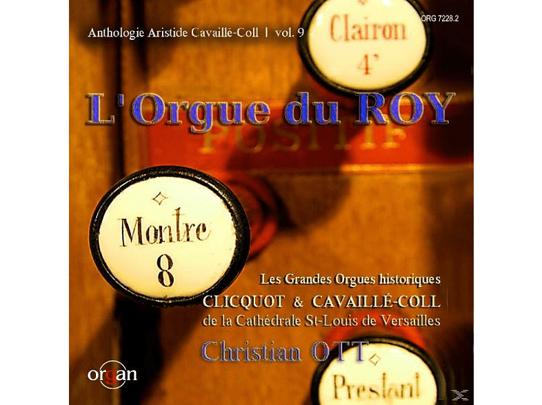 Christian Ott - L ORGUE DU ROY: OFFERTOIRE [CD]