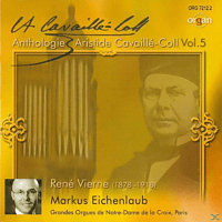 Eichenlaub Markus - Anthologie Aristide Cavaillé-Coll Vol.5 [CD]