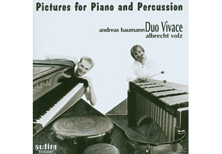 Volz, Duo Vivace (baumann, Duo Vivace - Pictures For Piano And Percuss - (CD)