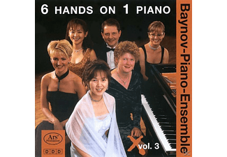 The Piano - 6 Hands On 1 Piano Vol.3 - (CD)