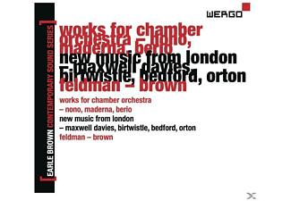 Berio, English Chamber Orchestra, Maderna, Maderna/English Chamber Orchestra/Berio/ - Earle Brown-A Life In Music Vol.2 - (CD)