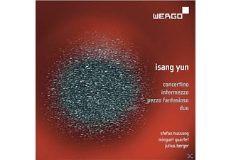 Berger, Minguet- Quartett, Hussong - Concertino/Intermezzo/Pezzo Fantasioso/+ - (CD)