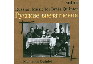 Montanus Quintett - Russian Brass Music - (CD)