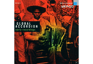 VARIOUS - Global Accordion - (CD)