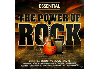 VARIOUS - ESSENTIAL ROCK-DEFINITIVE ROCK CLASSICS AND POWER - (CD)