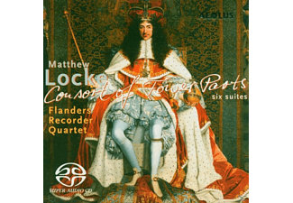 Flanders Recorder Quartet - Consort Of Fower Parts - (SACD Hybrid)