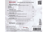 Duo Imaginaire, VARIOUS - Quinär-5 new works for Clarinet & Harp [CD]