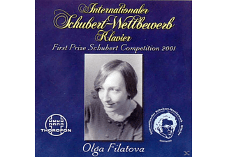 Olga Filatova - First Prize Schubert Competition 2001 - (CD)