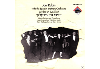 The Epstein Brothers Orchestra, Rubin, Joel / Epstein Brothers Orchestra, The - Jewish-American Wedding Music - (CD)