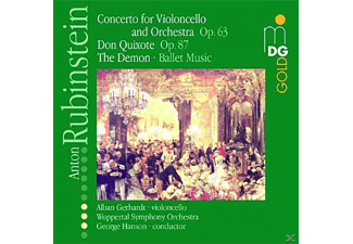 SINF.-ORCH.W-TAL & GERHARDT - Rubinstein: Concerto For Violoncello, Don Quixote, The Demon - (CD)