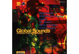 VARIOUS - Global Sounds-Live-Afrika - (CD)
